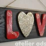 Schild LOVE