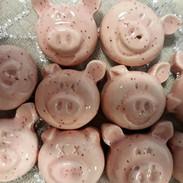 Glücksbringer Silvester - Minischweinchen