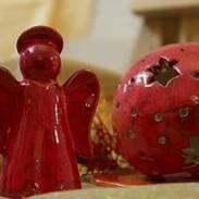 Engel, Teelichtkugel