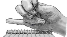 ペダル・スティールギター教室/右手