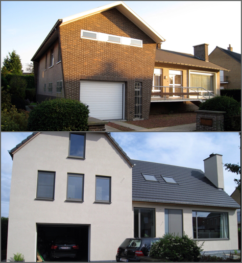 Renovatie van een woning in Temse door onze specialisten
