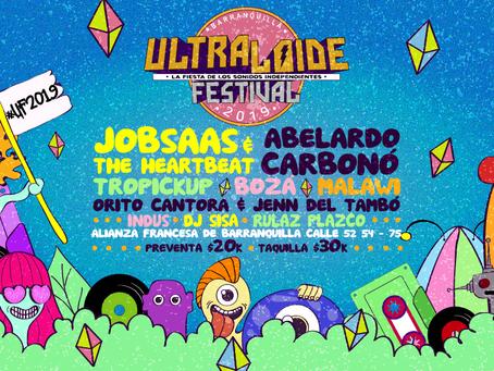 Llega una nueva edición de ULTRALOIDE FESTIVAL, la fiesta de los sonidos independientes.