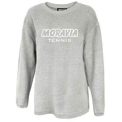 Moravia Tennis Washed Cord Crewneck 5670