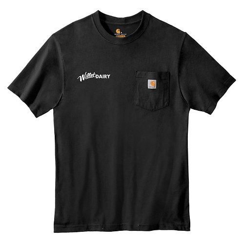 Willet Dairy Carhartt ® Workwear Pocket Short Sleeve T-Shirt