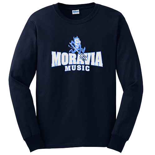 Moravia Music Long Sleeve Tee