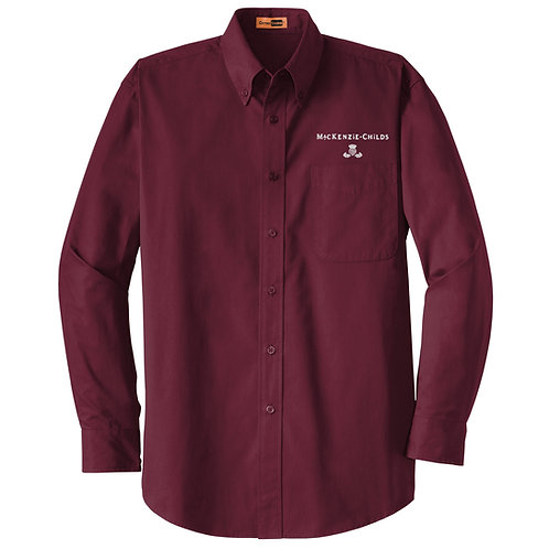 MacKenzie-Childs Adult Twill Shirt SP17