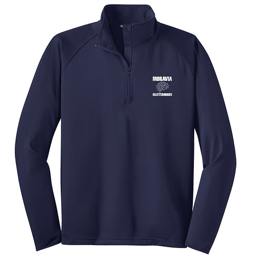 Moravia Masterminds 1/2 Zip Wicking Pullover