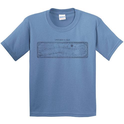 Owasco Lake Map Youth T-Shirt