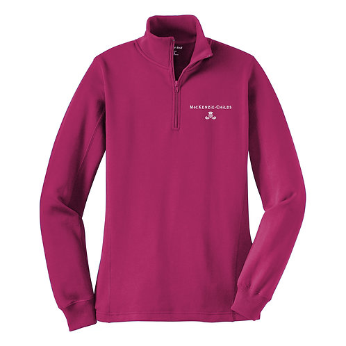 MacKenzie-Childs Ladies 1/4 Zip Sweatshirt LST253