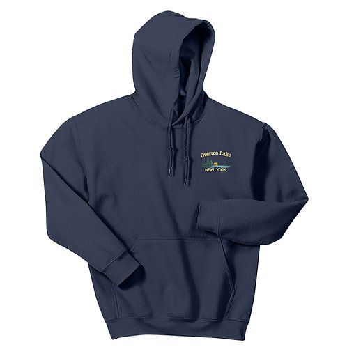 Owasco Lake Sunset Pullover Hoodie