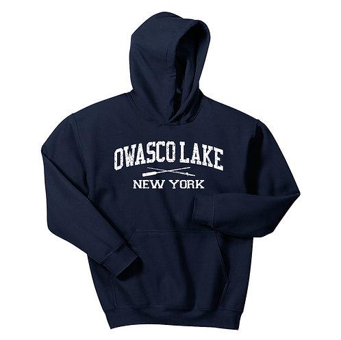 Owasco Lake Rod & Paddle Youth Pullover Hoodie