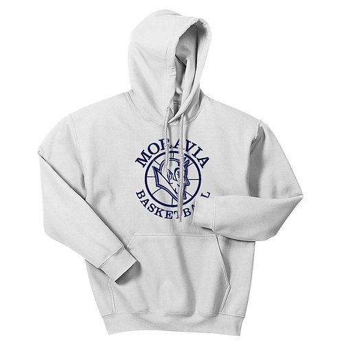 Moravia Basketball White-Out Pullover Hoodie 996M