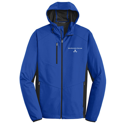 MacKenzie-Childs Adult Hooded Soft Shell Jacket J719