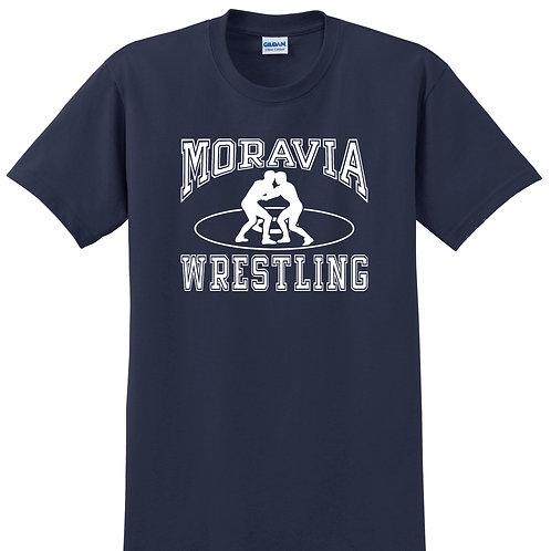 Moravia Wrestling Adult Short Sleeve Tee 2000G