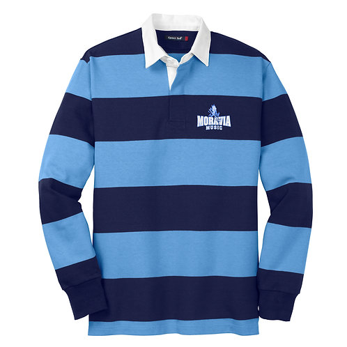 Moravia Music Long Sleeve Rugby Polo