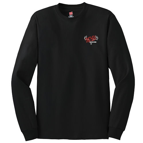 Rush Outdoors Tagless 100% Cotton Long Sleeve T-Shirt 5586