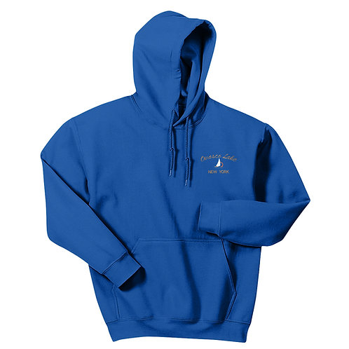 Owasco Lake Sailboat Pullover Hoodie