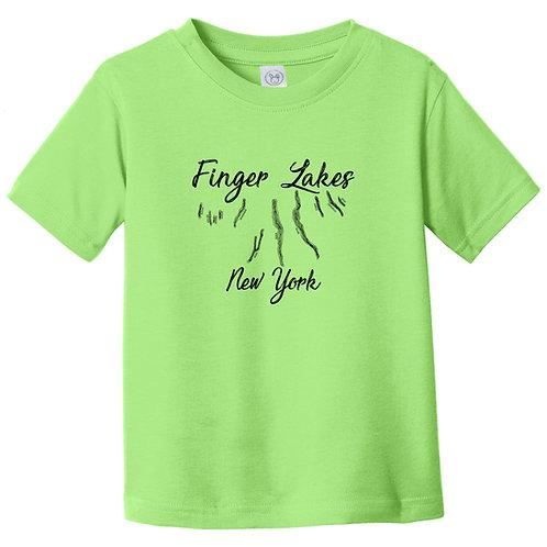Finger Lakes New York Toddler T-Shirt