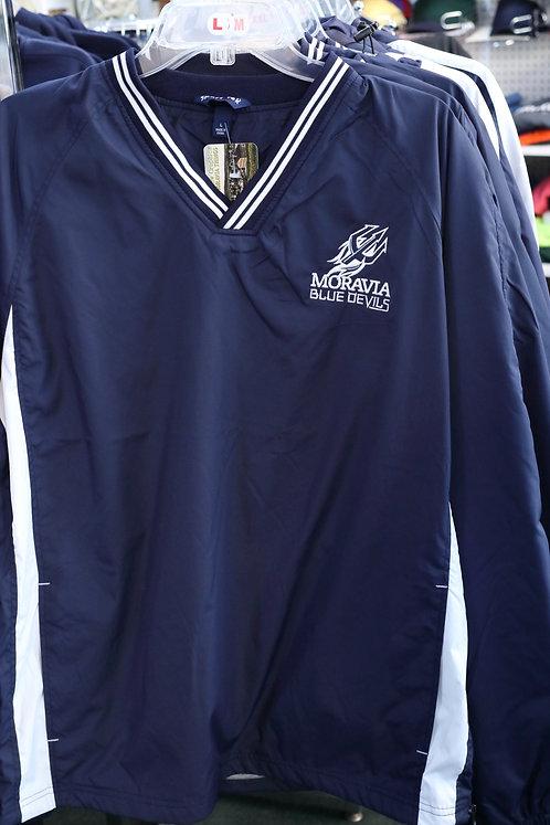Moravia V-neck Raglan Wind Shirt JST62
