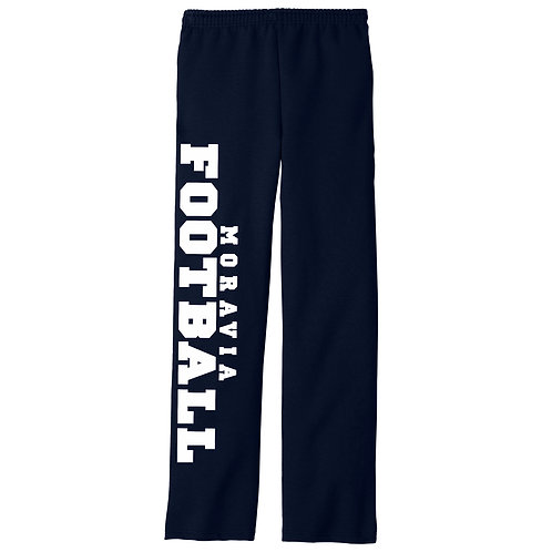 MCS Football Adult Open Bottom Sweatpants 974MP