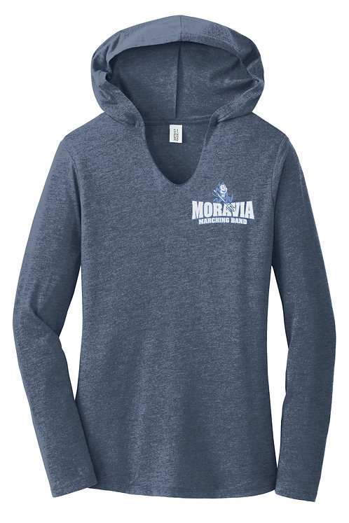 Moravia Marching Band Ladies Perfect Tri Long Sleeve Hoodie