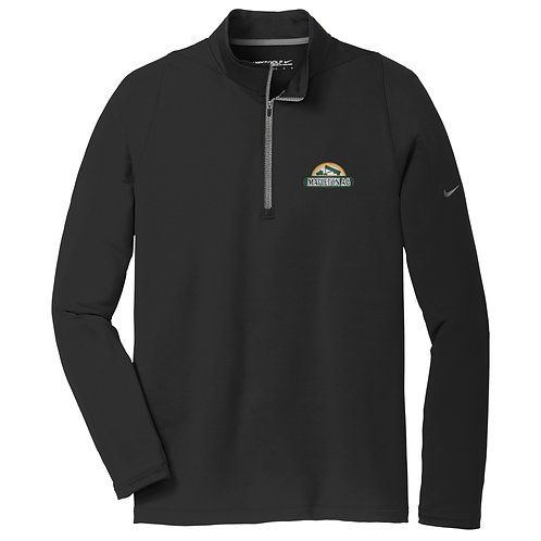 Mapleton Ag Nike Dri-FIT Stretch 1/2-Zip Cover-Up