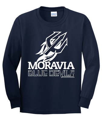 Blue Devils Youth Long Sleeve Tee