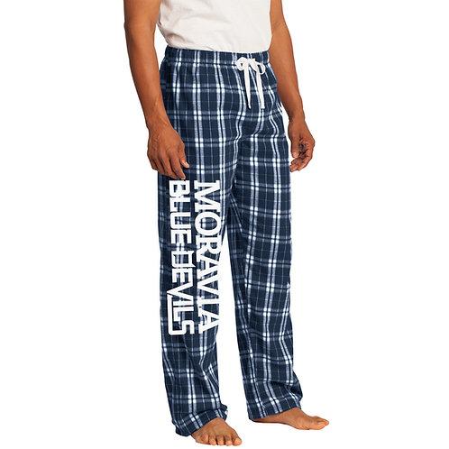 Moravia Blue Devils Flannel Plaid Pant