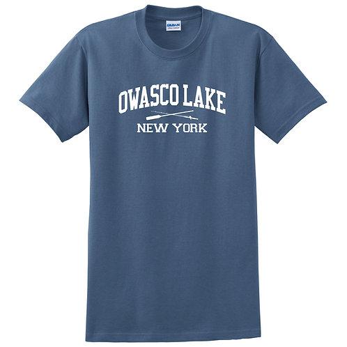 Owasco Lake Rod & Paddle Adult T-Shirt