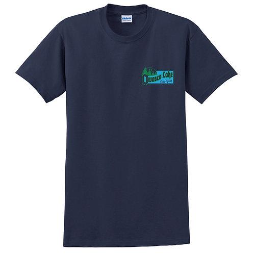 Moon over Pines - Owasco Lake New York Adult T-Shirt