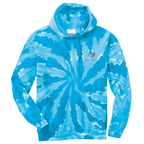Northwoods Tie-Dye Pullover Hooded Sweatshirt