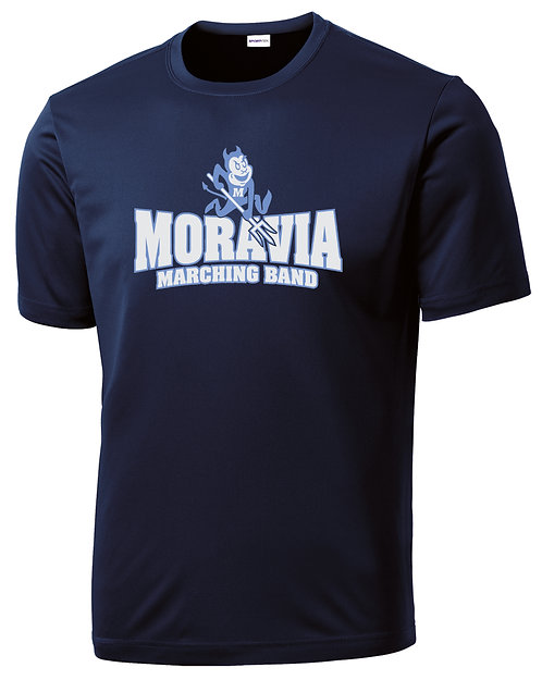 Moravia Marching Band Performance Tee