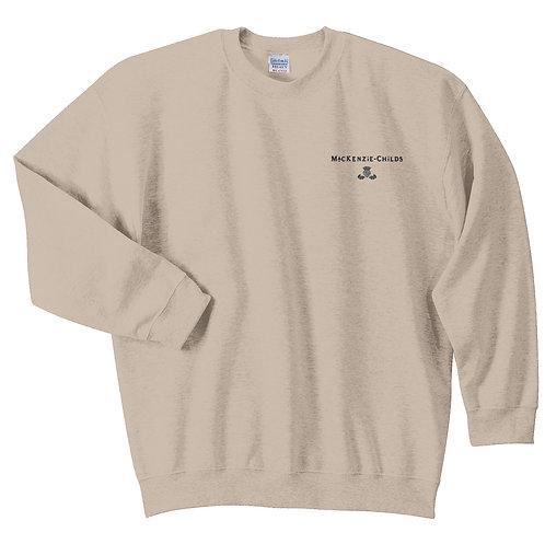 MacKenzie-Childs Crewneck Sweatshirt 18000 - Black Logo