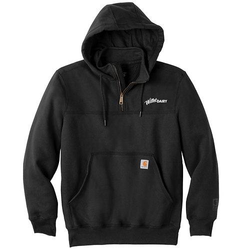 Willet Dairy Carhartt® Rain Defender® Paxton Heavywt Hooded Zip Mock Sweatshirt