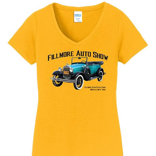 Fillmore Auto Show 2018 Ladies T-Shirt