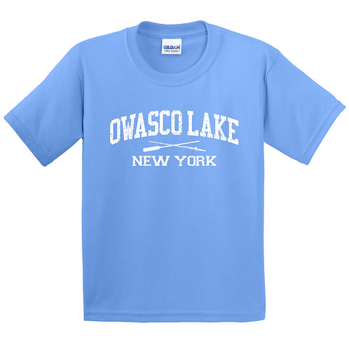 Owasco Lake Rod and Paddle Youth T-shirt - Discontinued colors