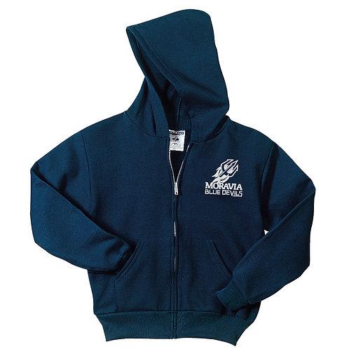 Blue Devils Youth Full Zip Hoodie