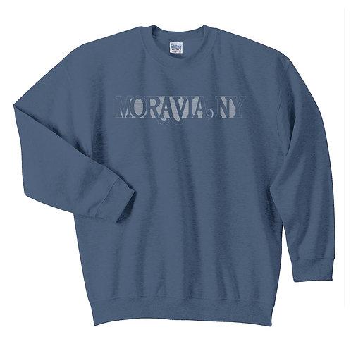 Moravia Adult Crewneck - Embroidered Design