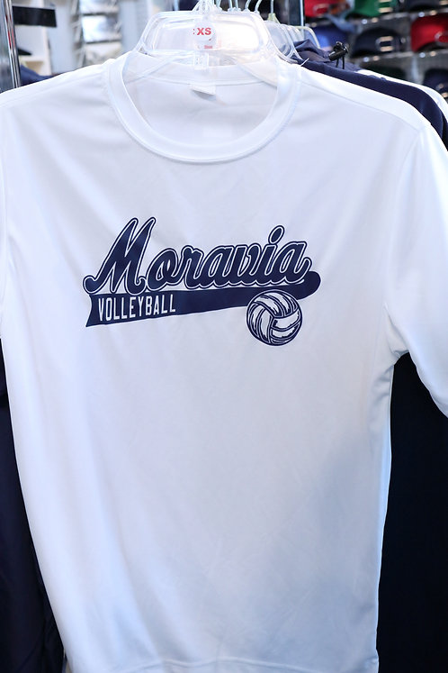Tee with Moravia Volleyball design