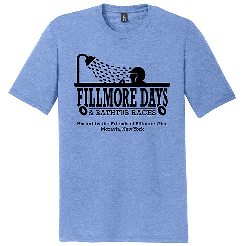 Fillmore Days Bathtub Race Perfect Tri T-shirt