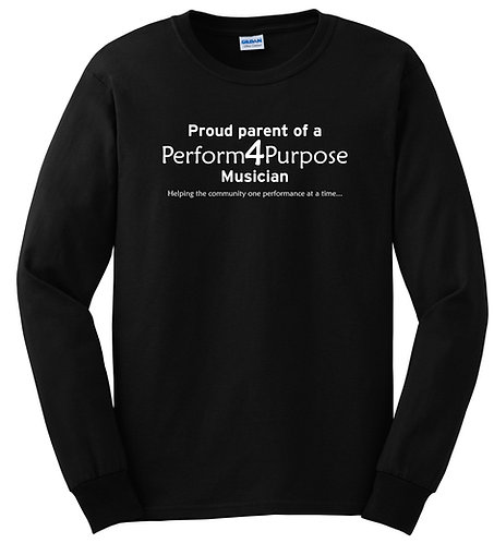 Perform 4 Purpose Proud Parent Long Sleeve Tee G2400