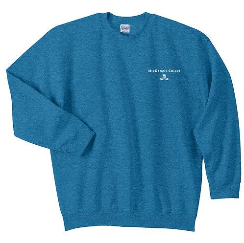 MacKenzie-Childs Crewneck Sweatshirt 18000 - White Logo