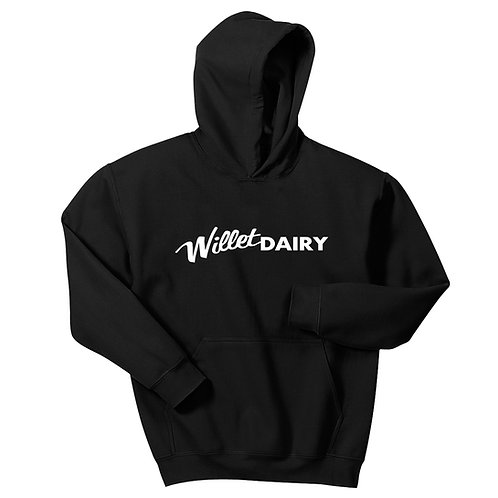 Willet Dairy Basic Youth Pullover Hooded Sweatshirt