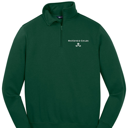 MacKenzie-Childs 1/4 Zip Sweatshirt ST253