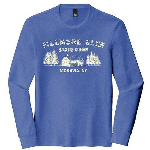 Fillmore Glen Cabin Adult Perfect Tri Long Sleeve Tee DM132