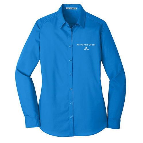 MacKenzie-Childs Ladies Long Sleeve Poplin Shirt LW100