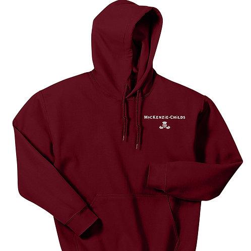 MacKenzie-Childs Heavy Blend Hooded Sweatshirt 18500 - White Logo