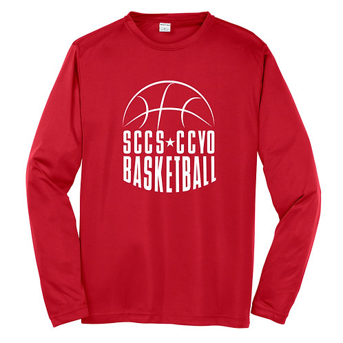 Southern Cayuga CCYO Adult Long Sleeve Wicking Tee ST350LS
