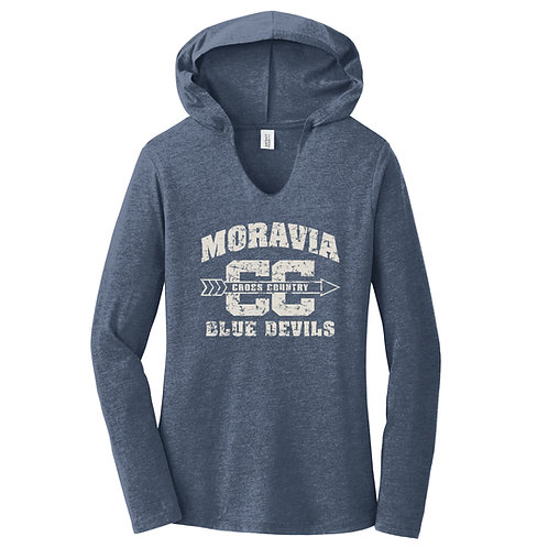Moravia Cross Country Ladies Perfect Tri Long Sleeve Hoodie DM139L