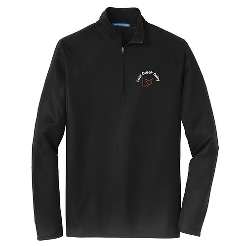Lost Creek Dairy Port Authority® Pinpoint Mesh 1/2-Zip